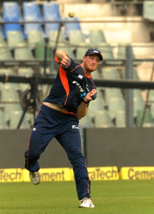 New Zealand practice session - Martin Guptill