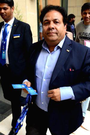 Rajeev Shukla at IPL Auction