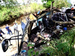 PHILIPPINES-RIZAL PROVINCE-BUS ACCIDENT