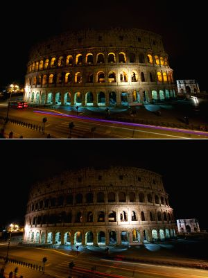 ITALY-ROME-EARTH HOUR
