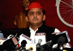 Akhilesh Yadav' press conference