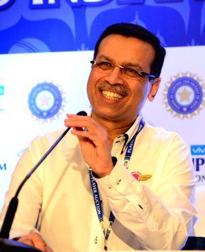 Sanjeev Goenka, owner of IPL team Rising Pune Supergiants at IPL players auction