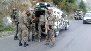 Uri (J&K): Police's encounter with militants