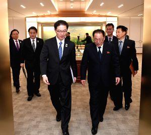 SOUTH KOREA-DPRK-WINTER OLYMPICS-DIALOGUE