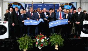 South Carolina: Samsung's new washer plant in U.S. begins operations