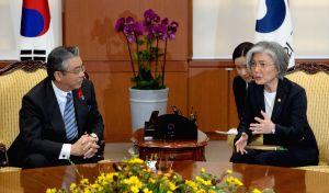 FM meets Japan diplomat