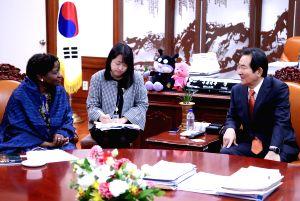 Speaker meets UNFPA official