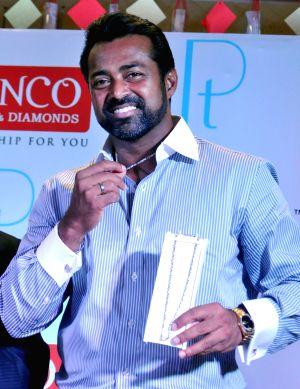 Leander Paes launches men's platinum jewellery collection