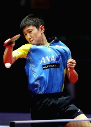 2017 ITTF World Tour India Open - Men's Single Final - Tomokazu Harimoto