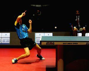 2017 ITTF World Tour India Open - Men's Single Final - Tomokazu Harimoto & Dimitrij Ovtcharov
