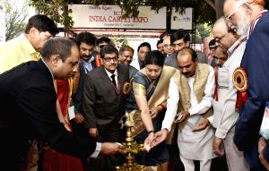 Smriti Irani inaugurates India Carpet Expo