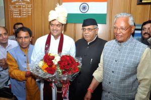 Uttarakhand speaker Premchand Aggarwal