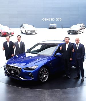 Genesis rolls out first entry-level G70 luxury sedan