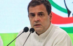 Rahul slams govt after pe