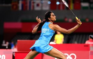 Olympics: PV Sindhu storm