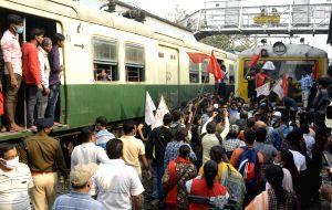 'Rail roko' protest: Farm
