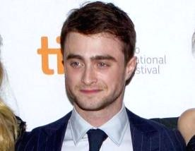 Actor Daniel Radcliffe.