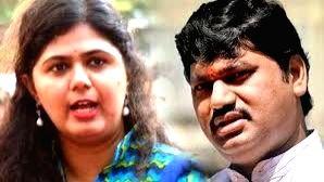 Dhananjay Munde and Pankaja Munde