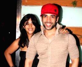 Ekta Kapoor and Tusshar Kapoor. (File Photo: IANS)