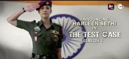 "Harleen Sethi to play the lead role in ""The Test Case"""