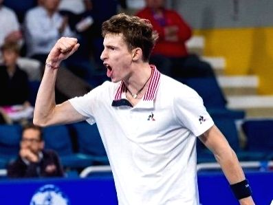 Humbert overcomes Russian Rublev for Halle title.