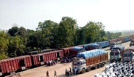 Indian Railways' freight loading.
