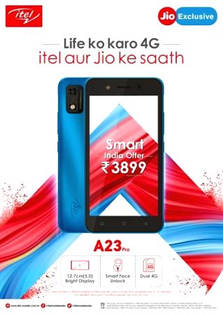 itel brings in most affordable 4G smartphone itel A23 Pro at sub-4K