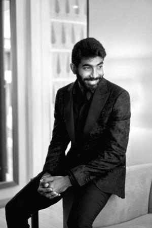 Jasprit Bumrah redefines swagger in wedding reception wardrobe