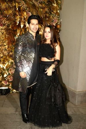Mumbai, May 8 (IANS) It's actor Varun Dhawan's girlfriend Natasha's birthday today, and to ring in her special day, the former took to Instagram to pen a cute wish for her.(File Photo: IANS)
