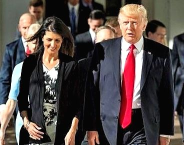 US isn't racist: Nikki Haley urges Americans to re-elect Trump (Ld)