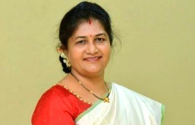 Woman and Child Welfare Minister Shashikala Jolle ( Credit : Shashikala Jolle/twitter)