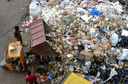 Garbage piles up after garbage contractors' protest against BBMP