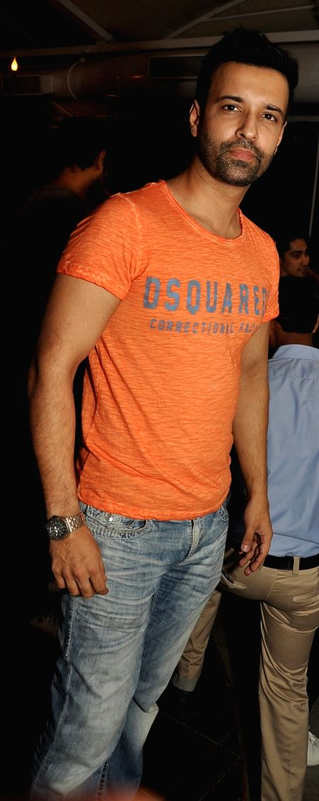 Aamir Ali during Mirabella Bar & Kitchen Launch in Mumbai on July 4, 2016.