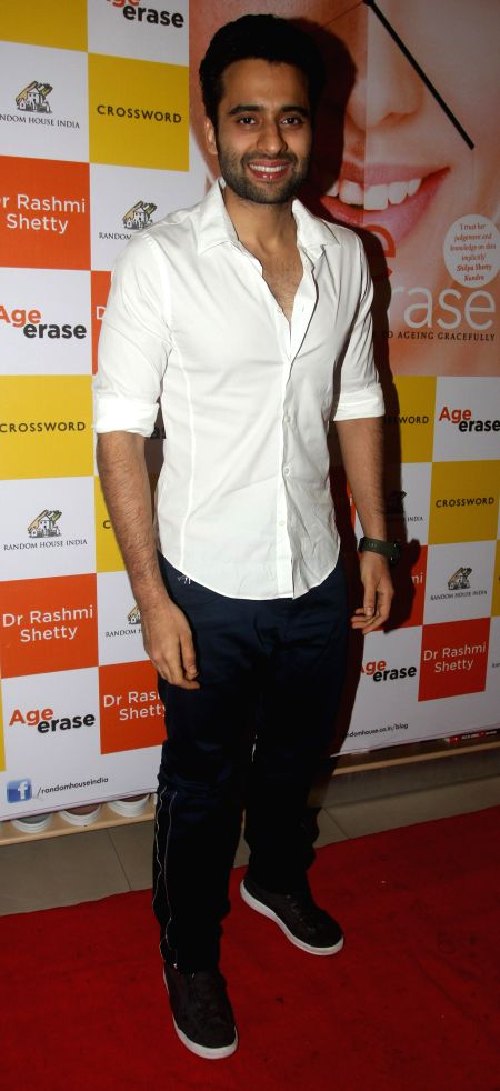 Actor Jackky Bhagnani during the launch of her book Age Erase in Mumbai on July 11, 2014. - Jackky Bhagnani