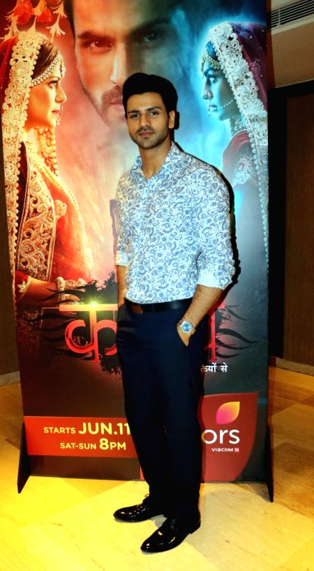"Actor Vivek Dahiya during promotion of his upcoming television show  ""Kavach...Kaali Shaktiyon Se"" in New Delhi, on June 2, 2016. - Vivek Dahiya"
