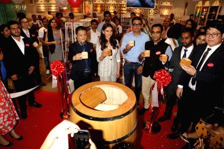 Miniso store launch - Aditi Rao Hydari