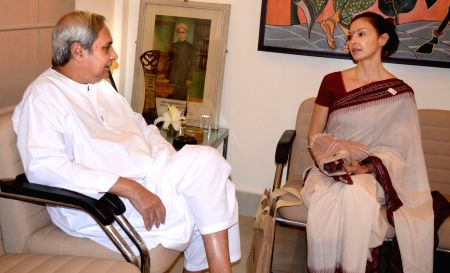 Ashley Judd calls on Odisha CM