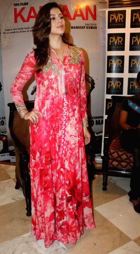 "Actress Karishma Kotak during a press conference to promote their upcoming film ""Kaptaan"" in New Delhi on May 14, 2016. - Karishma Kotak"