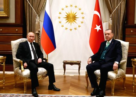 TURKEY-ANKARA-ERDOGAN-RUSSIA-PUTIN-MEETING