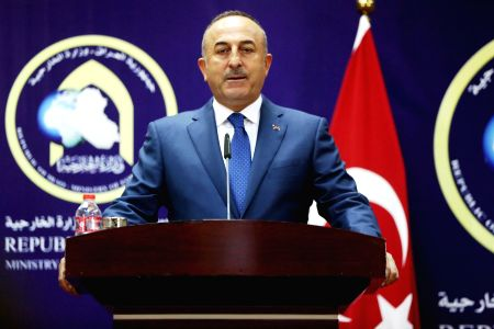 IRAQ-BAGHDAD-TURKISH FOREIGN MINISTER-PRESS CONFERENCE