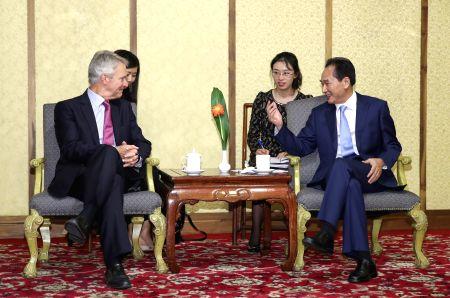 CHINA-BEIJING-XINHUA-AP-PRESIDENT-MEETING