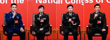 CHINA-BEIJING-CPC NATIONAL CONGRESS-GROUP INTERVIEW-MILITARY