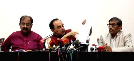 Subramanian Swamy's press conference