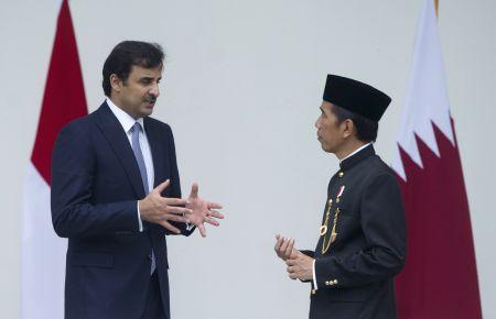 INDONESIA-BOGOR-QATAR-EMIR-VISIT