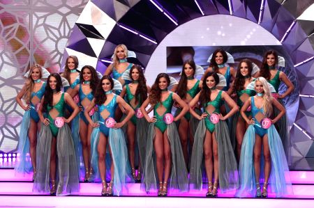 HUNGARY-BUDAPEST-BEAUTY CONTEST-MISS WORLD HUNGARY