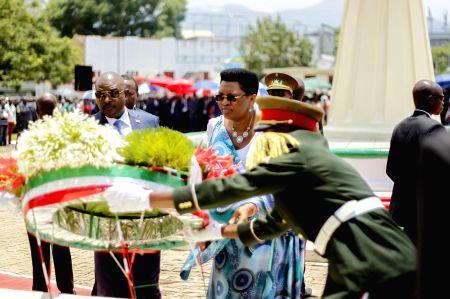 BURUNDI-BUJUMBURA-LATE PRESIDENT-ASSASSINATION-ANNIVERSARY