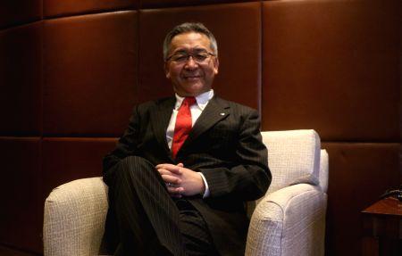 Kazutada Kobayashi during an interview with IANS