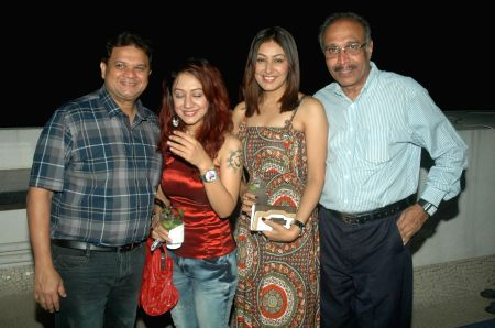 Designer Amy Billimoria Diwali party