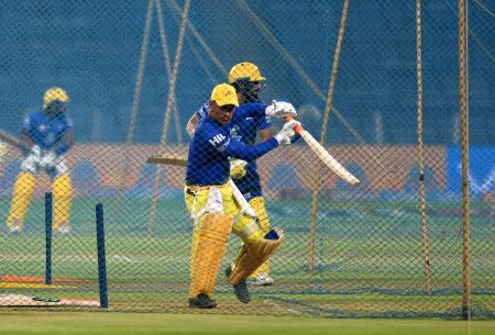 IPL 2018 - Chennai Super Kings - Practice Session