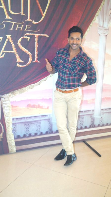 Choreographer Terence Lewis during Disney India`s Beauty and the Beast musical event, in Mumbai, on May 8, 2016.
